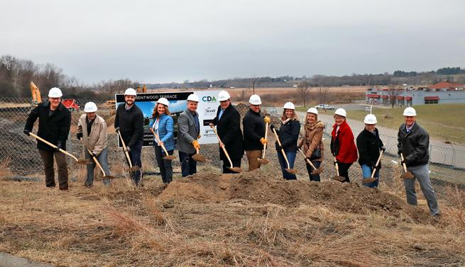 Construction begins on Brentwood Terrace Senior Living Facility