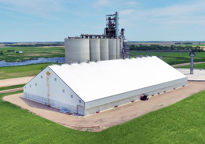 James Valley Flat Grain Storage Building
