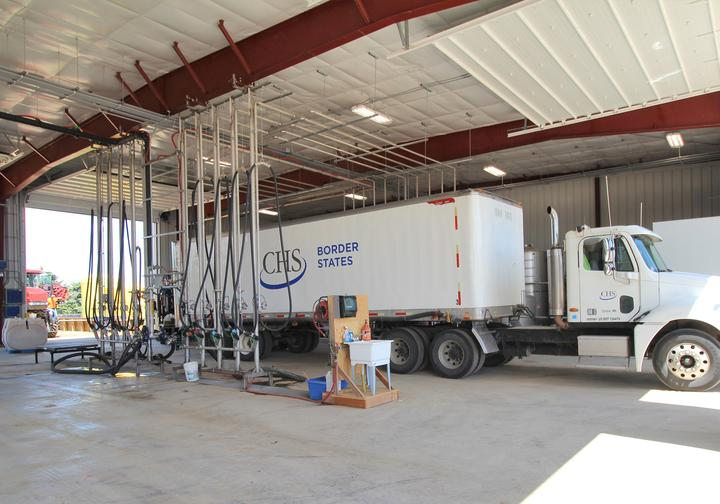 CHS Border States Cooperative Chemical Storage and Liquid Load-Out Building