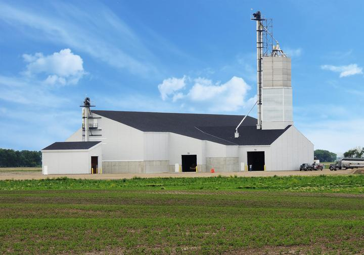 CHS Dakota Plains Dry Fertilizer Storage Building