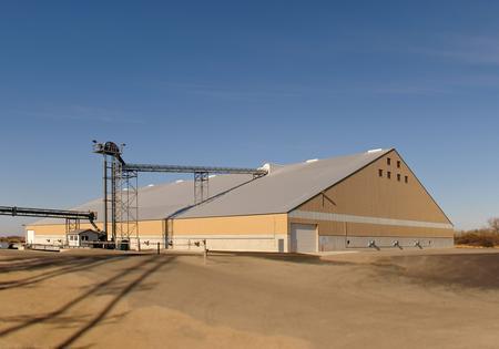 Flat Grain Storage Building