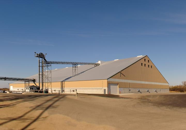 Glacial Plains Flat Grain Storage Building