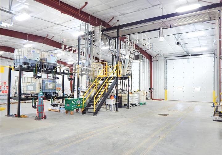 Heritage Cooperative Bulk Liquid Chemical Storage Building