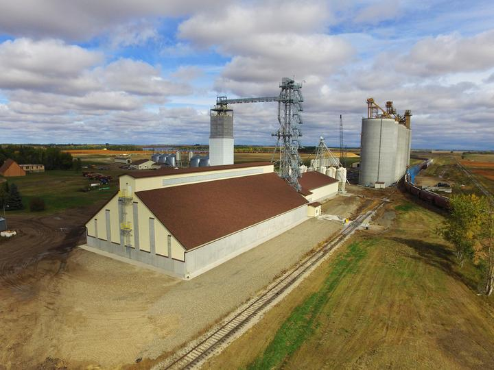Legacy Cooperative Dry Fertilizer Storage Building