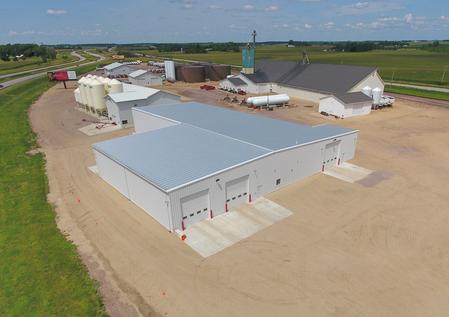 Bulk Seed, Chemical Warehouse & Liquid Fertilizer Buildings