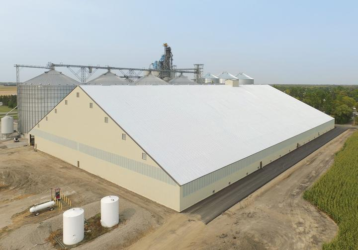 Flat Grain Storage Buildings