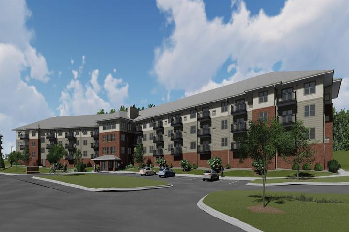 UNDER CONSTRUCTION: Brentwood Terrace Senior Living Facility