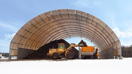Salt & Sand Storage Buildings and Salt Sheds
