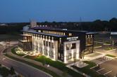 Greystone Construction Office Building Aerial