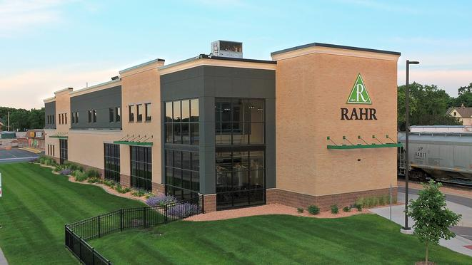 Exterior view of Rahr Technical Center & Pilot Brewery construction project