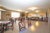 Club room inside the Henderson senior living facility / housing community