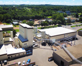 Aerial view of Koda Energy Fuel Delivery System & Biomass Energy Plant