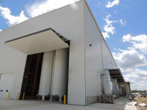 Large overhead doors at Chart Industries Manufacturing Facility