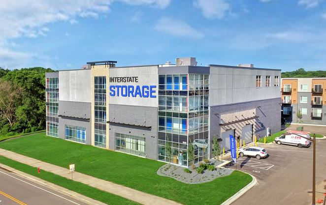 Interstate Self Storage Facility Construction Exterior