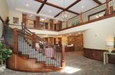 Lobby inside of the Pillars of Mankato senior living facility housing construction project