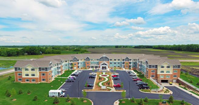 Pillars of Mankato Senior Living Project Completed