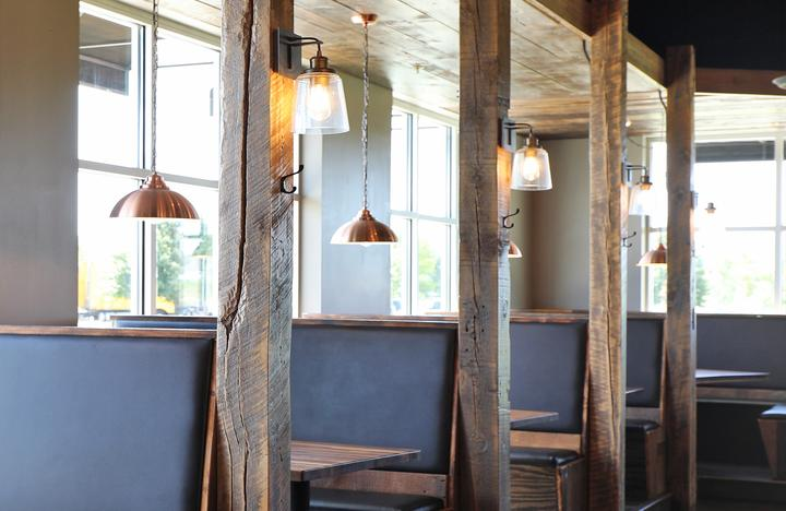 Rustic details at McCoys Copper Pint Bar & Restaurant