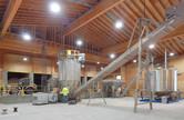 Equipment inside of dry fertilizer storage building at Nutrien Ag Solutions Greenfield Site in Sunnyside, Washingtonarea inside the dry fertilizer storage building for CHS in St. Charles, MN