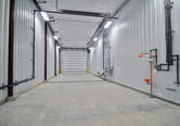 Wash bay inside River Valley bulk chemical warehouse in Speer, IL