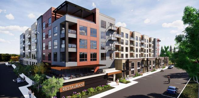 Gaughan and Greystone break ground on Shakopee Flats market-rate, mixed use apartment development