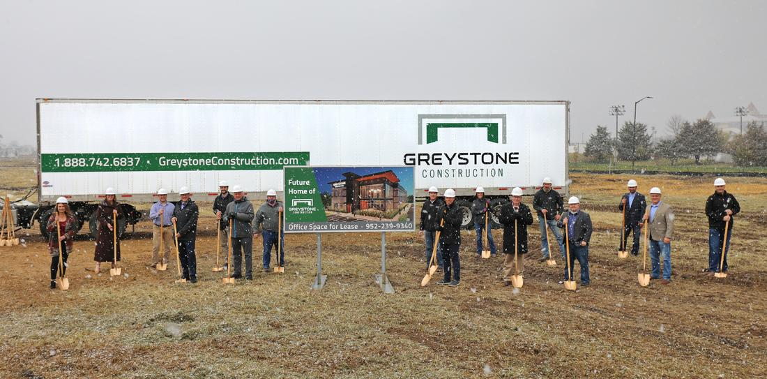 Construction begins on Greystone's new office building