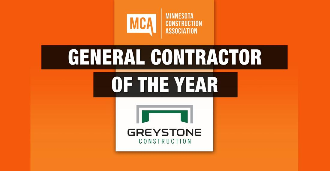 Minnesota Construction Association names Greystone the General Contractor of the Year